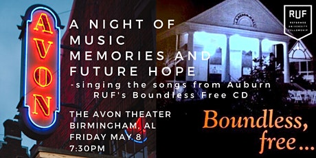 Boundless Free Live Concert (Auburn RUF's CD recorded in 1999) tickets