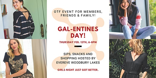 Gal-entines Day Shopping Event @  Evereve 15% OFF