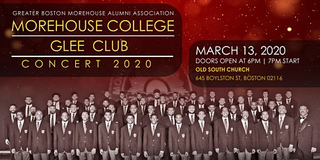 GBMCAA and the TJX Companies, Inc. Present Morehouse College Glee Club Concert tickets