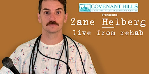 Zane Helberg, live from rehab - Denver