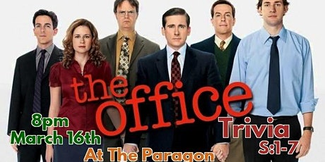 The Office Trivia Night! S:1-7 tickets