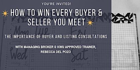 How to Win Every Buyer and Seller You Meet tickets
