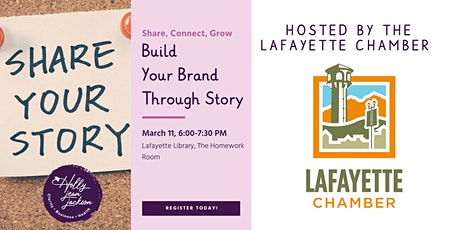 Build Your Brand Through Story tickets