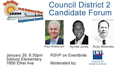 2020 Candidate Forum: Los Angeles City Council District 2 tickets
