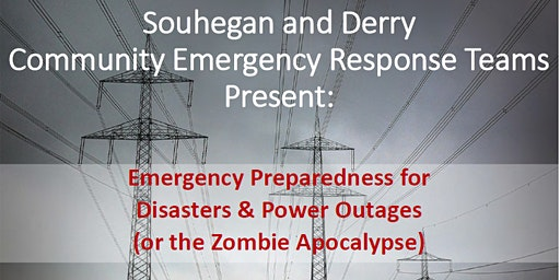 Emergency Preparedness for Disasters, Blackouts or the Zombie Apocalypse