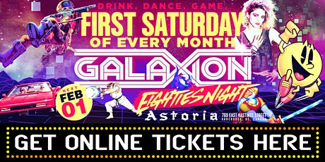 GALAXION | FEB 1 | ONLINE TICKETS tickets