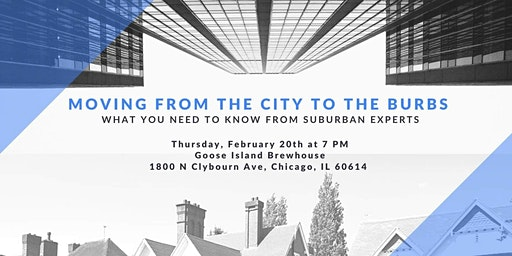 Moving From the City to The Burbs: What you Need to Know