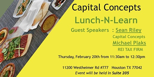Capital Concepts Lunch-N-Learn