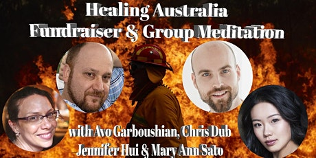 Healing Australia Fundraiser & Group Meditation - Min donation Required tickets