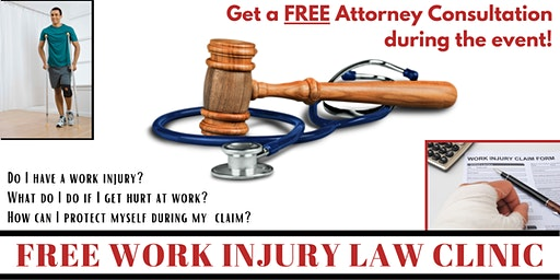 Free Work Injury Law Clinic