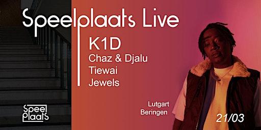 Speelplaats Live | K1D Jewels Tiewai Chaz & Djalu