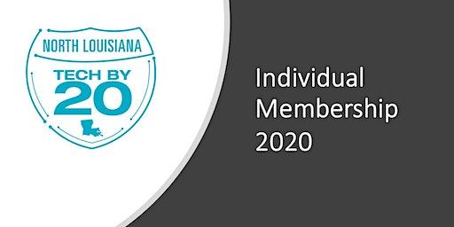 TECH BY 20 Individual Membership 2020