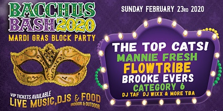 BACCHUS BASH 2020 tickets