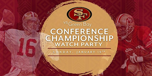 49ers Conference Championship Watch Party at Kaiyo