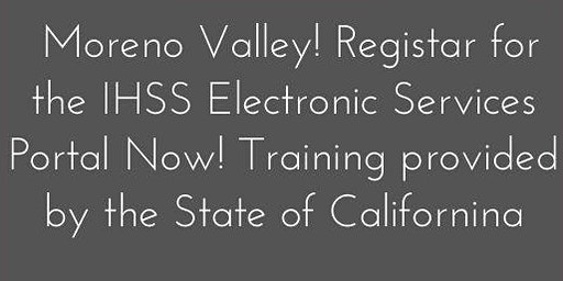 Mo Val!   Electronic Services Training provided by the State of California