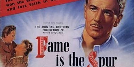 Manchester Literary Classics: Fame is the Spur tickets