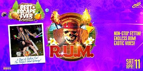 I Love RUM - BEE Weekend 2020 tickets