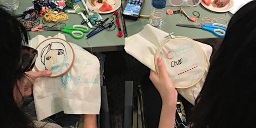 Embroidery Craftivism Workshop