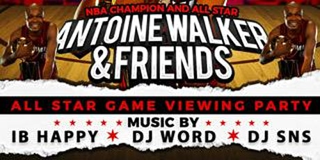 Antoine Walker & Friends All Star Game Viewing Par tickets