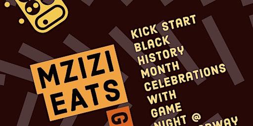 Mzizi Eats Black History Month Game Night