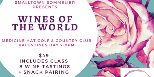 Valentine's Day: Wines of the World Tasting Event