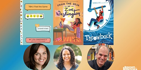 Middle Grade Panel with Peter Lerangis, Janae Marks, and Lisa Greenwald tickets