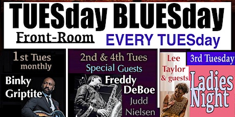 BLUESday TUESday tickets