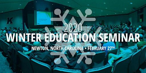 Winter Education Seminar in Newton, North Carolina