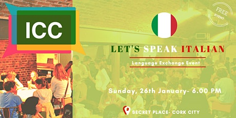Let's speak Italian - Jan 2020 tickets
