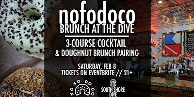 NoFoDoCo x South Shore Dive Brunch Doughnut & Cocktail Pairing
