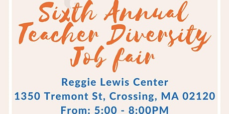 Sixth Annual Boston Diversity Fair for Teachers tickets