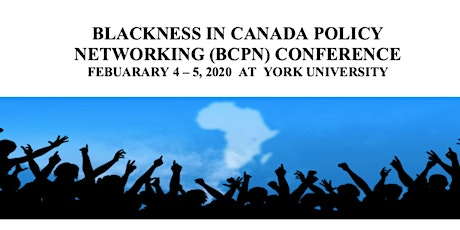 Blackness in Canada Policy Networking (BCPN) Conference  tickets