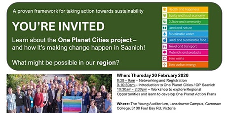 One Planet Living Orientation tickets