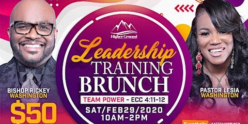 Higher Ground Outreach Church: Leadership Training Brunch: #teampower