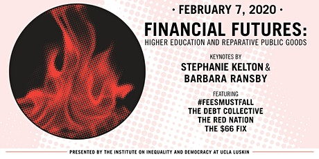 Financial Futures: Higher Education and Reparative Public Goods tickets