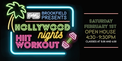 F45 Training Brookfield Hollywood Nights HIIT Workout Party