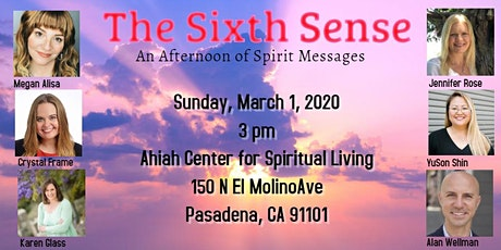 The Sixth Sense: An Afternoon of Spirit Messages tickets