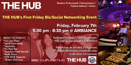 THE HUB's First Friday Biz/Social Mixer tickets