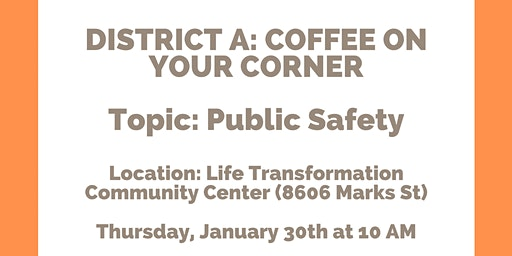 District A - Coffee On Your Corner