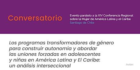 ¨Programas Transformadores de Género para abordar las uniones tempranas entradas