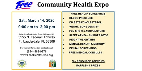 13th Annual Community Health Expo tickets
