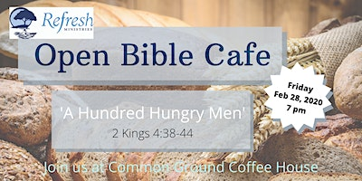 February 2020 Open Bible Cafe