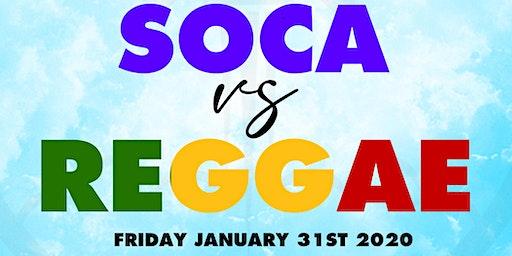SOCA PASSION - SOCA vs REGGAE