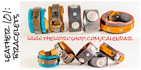 Leather 101: Bracelets with Leather Pixie 3.6.20 tickets