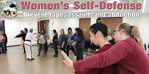Women's Self Defense Workshop - (Connetquot Public Library)