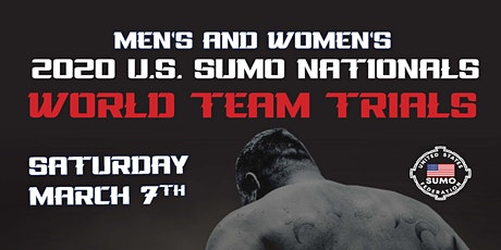 2020 U.S Sumo Nationals & World Team Trials tickets