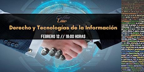 Derecho y Tecnologías de la Información boletos