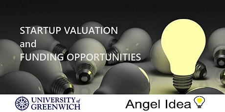 STARTUP VALUATION and Funding Opportunities tickets