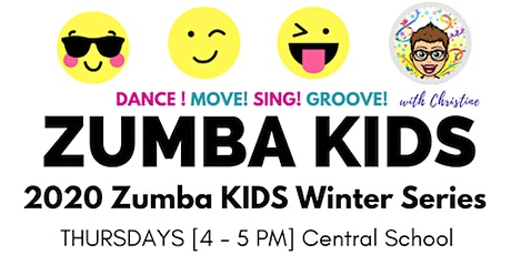 ZUMBA KIDS 2020 - Winter 10 week series tickets