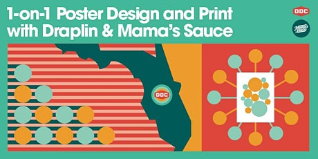 1-on-1 Poster Design and Print with Draplin and Mama's Sauce tickets